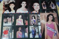 Miss Universe 1988 Pornthip Narkhirankanok โปสการ์ดภาพสี 24 ใบ