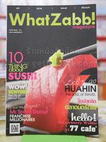 WhatZabb! Issue 01