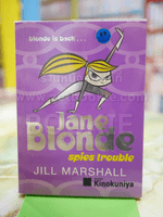 Jane Blonde spies trouble