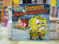 SPONGEBOB BETECTIVE TANTS inTHE CASE OF THE VANISHED SQUIRREL