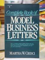 Complete Book of MODEL BUSINESS LETTERS