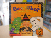 Boo Who ? A Spooky Lift - the - Flap Book