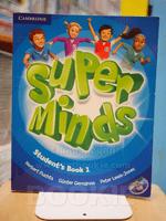 SUPER MINDS STUDENT'S BOOK 1 (ไม่มี CD) มีรอยขีดเขียนด้านใน