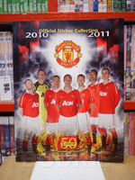 Official Sticker Collection 2010 - 2011 MANCHESTER UNITED
