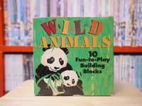 Wild Animals 10 Fun-to-Play Building Blocks
