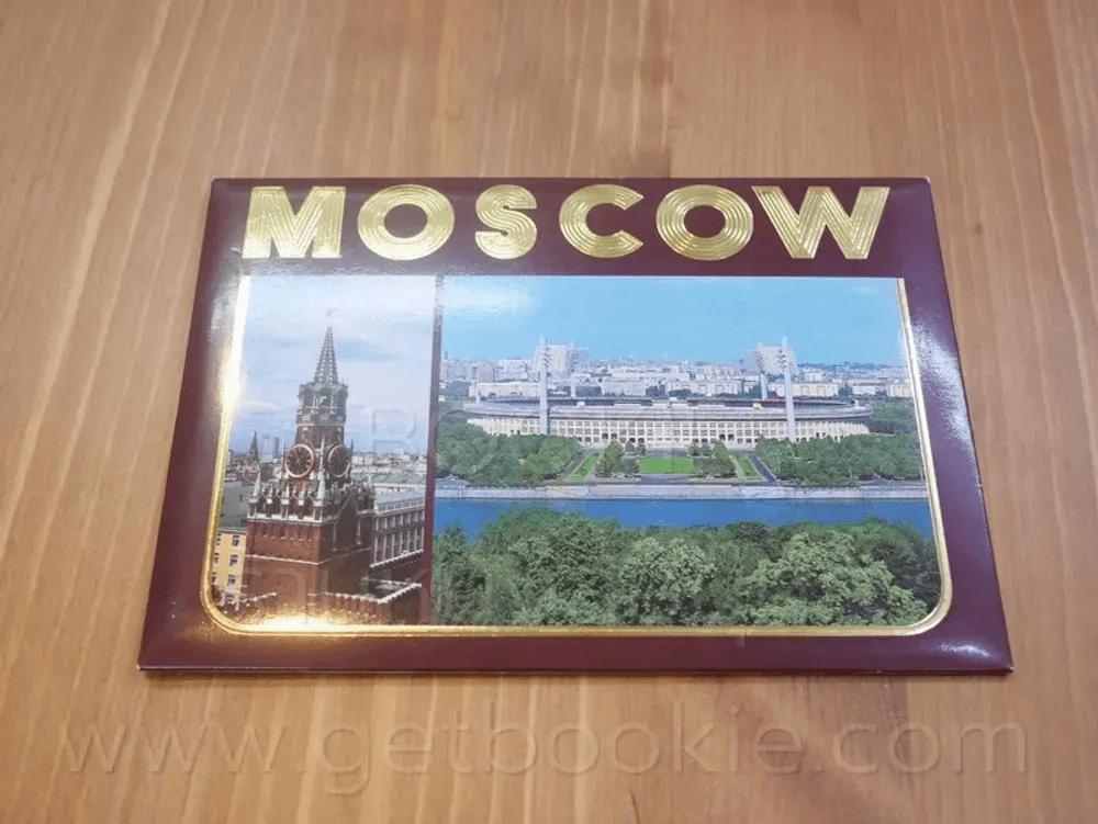 โปสการ์ด Moscow ขนาด 11.5 X 16.5 cm