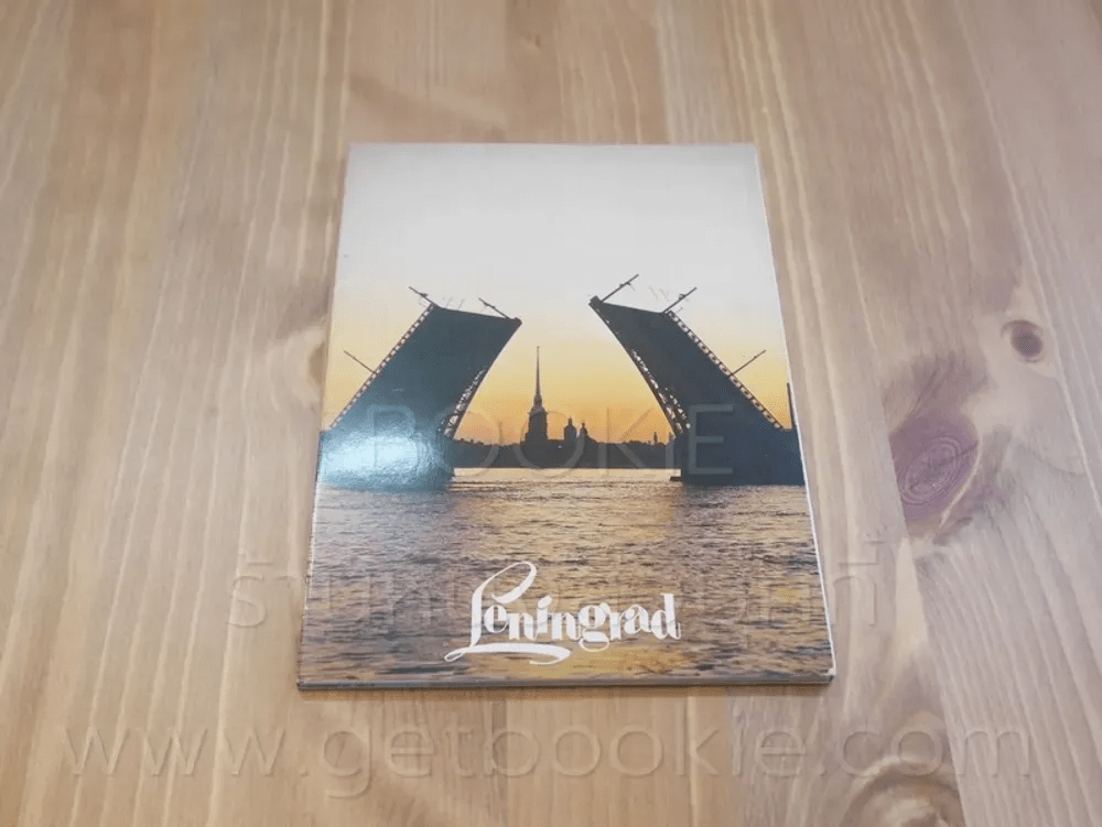 โปสการ์ด Leningrad ขนาด 11.5 X 16 cm