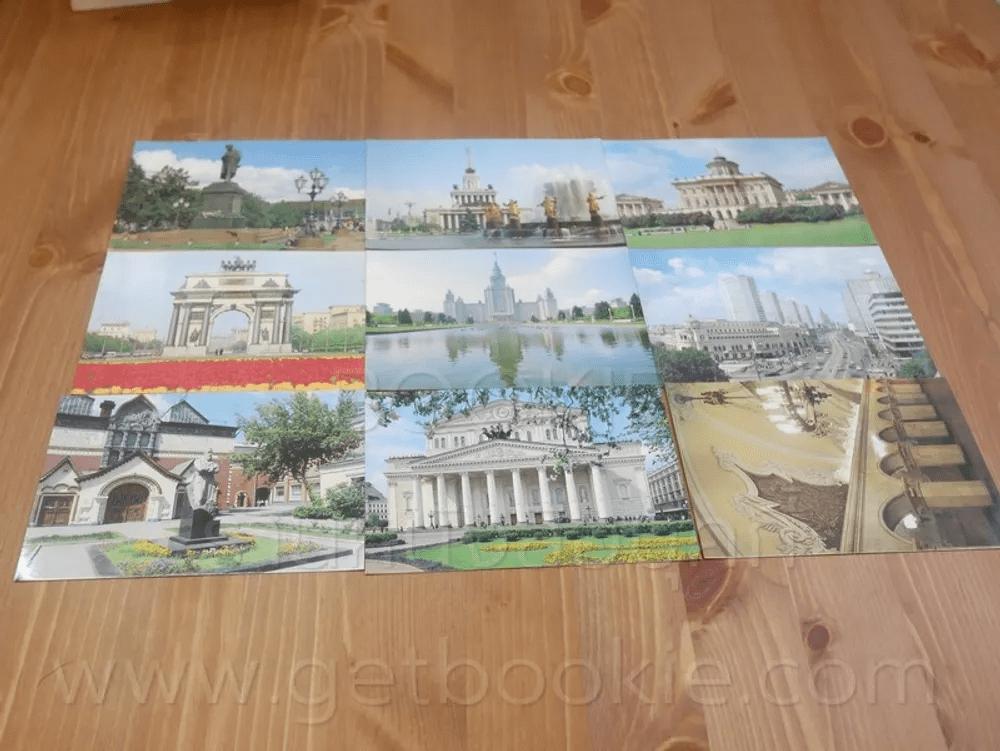 โปสการ์ด Moscow ขนาด 11 X 15 cm