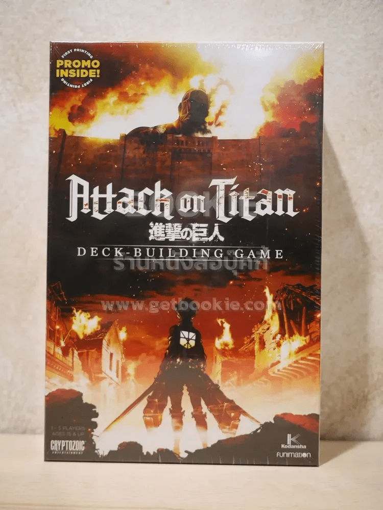 Attack on Titan Deck-Building Game Boardgame