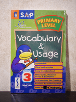 Primary Level Vocabulary & Usage Book 3