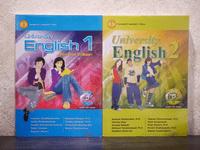 University English 1-2 (มีซีดี 2 เล่ม)