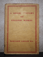 A Short History of English Words