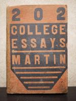 College Essays - Martin