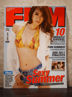 FHM ฉบับที่ 96 April 2011 VJ Ja - Natthaweeranuch