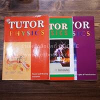 The Tutor Physics 3 เล่ม (ในเล่มมีขีดเขียน)