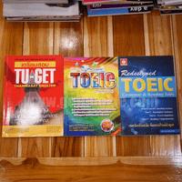 เตรียมสอบ TU-GET -พิชิตข้อสอบ Redesigned Toeic (Parts V-Vll) - Redesigned Toeic Grammar & Reading Tests ขายรวม 3 เล่ม