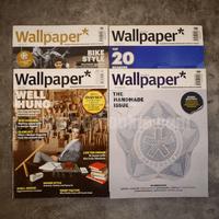 นิตยสาร Wallpaper ชุดที่ 1 ขายรวม 4 เล่ม