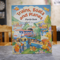 Trains, Boats and Planes - Gill Guile (Pop-Up Book)