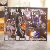 Transformers Dark of The Moon 4 เล่มจบ (ขาดเล่ม 2)