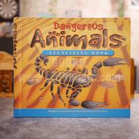 Dangerous Animals Stenciling Book หนังสือฉลุลาย