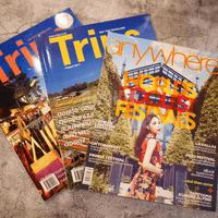 นิตยสารท่องเที่ยว ชุดที่ 2 แพ็ค 3 เล่ม 100 บาท