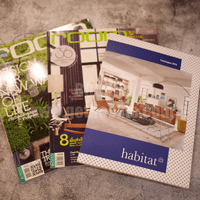 นิตยสารตกแต่งบ้าน ชุดที่ 4 แพ็ค 3 เล่ม (room+habitat)