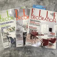 นิตยสารตกแต่งบ้าน ชุดที่ 8 แพ็ค 3 เล่ม (Elle Decoration)