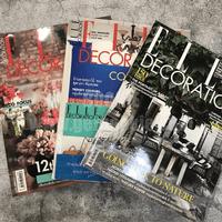 นิตยสารตกแต่งบ้าน ชุดที่ 9 แพ็ค 3 เล่ม (Elle Decoration)