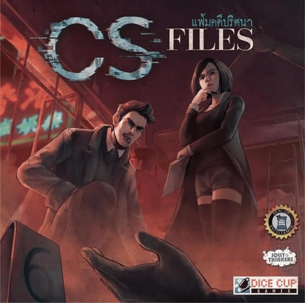 CS Files แฟ้มคดีปริศนา บอร์ดเกมแปลไทย