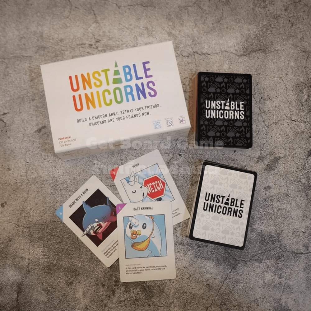 Unstable Unicorns บอร์ดเกม