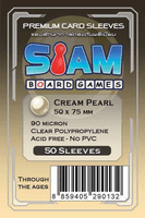 ซองใส่การ์ด 90M 50x75 MM  Cream Pearl (Siam Board Game)