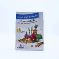 การ์ดคำศัพท์ สำหรับเด็ก ผักและผลไม้