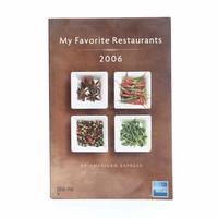 My Favorite Restaurants 2006