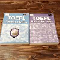 Toefl Practice Drills + Toefl Skills & Strategies