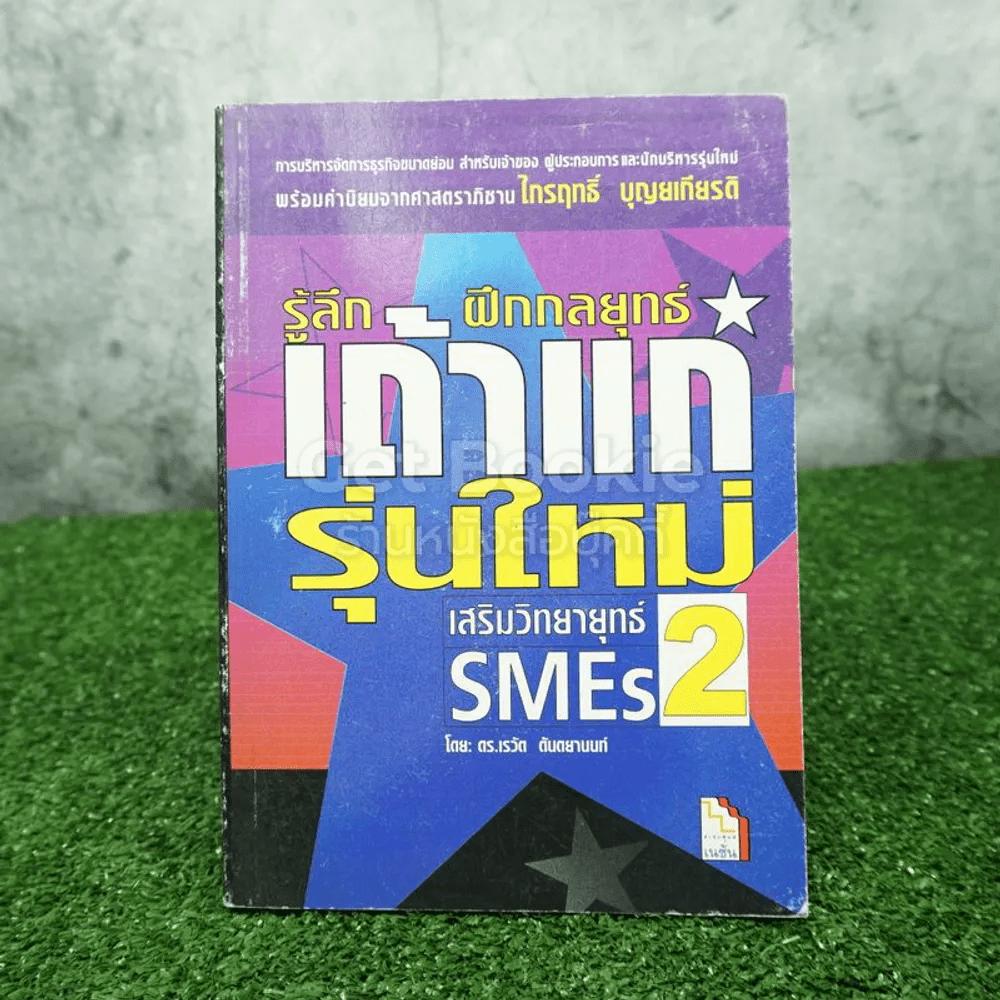 เสริมวิทยายุทธ์ SMEs 2 รู้ลึกฝึกกลยุทธ์เถ้าแก่รุ่นใหม่