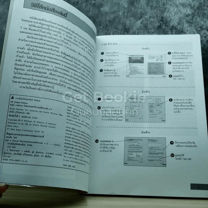 สรุปทบทวน วิทยาศาสตร์ ประถมศึกษา เล่ม 1-3