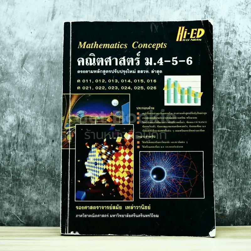 คณิตศาสตร์ ม.4-5-6