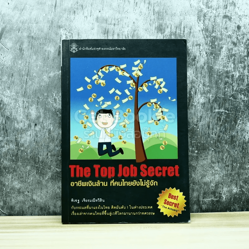 The Top Job Secret อาชีพเงินล้าน ที่คนไทยยังไม่รู้จัก
