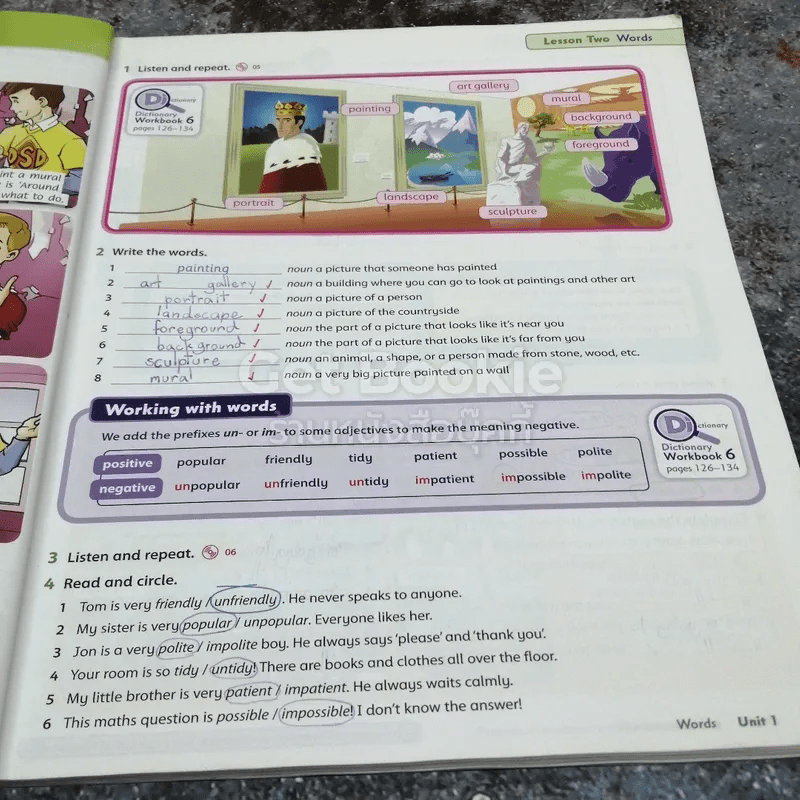 Family and Friends 6 Class Book