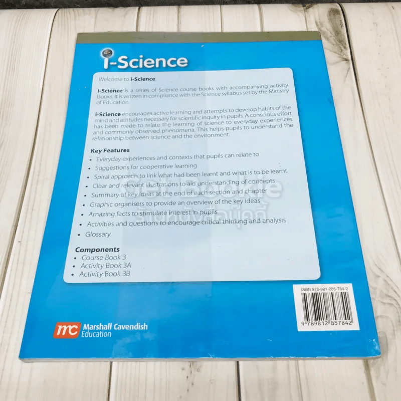 i-Science Course Book 3