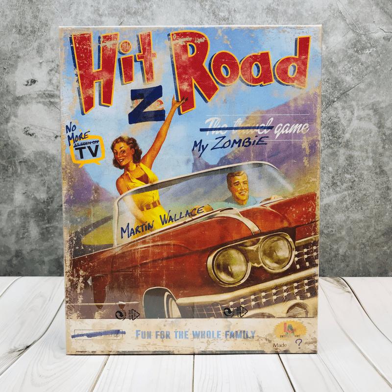 Hit Z Road  บอร์ดเกม