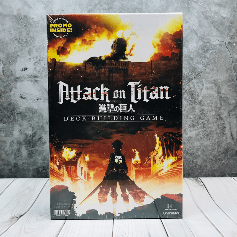 Attack on Titan Deck-Building Game Boardgame