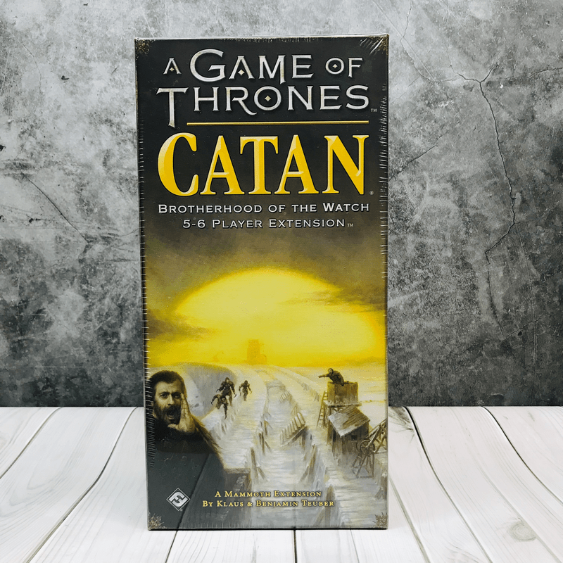 A Game of Thrones: Catan Brotherhood of the watch 5-6 Player Expansion  บอร์ดเกม