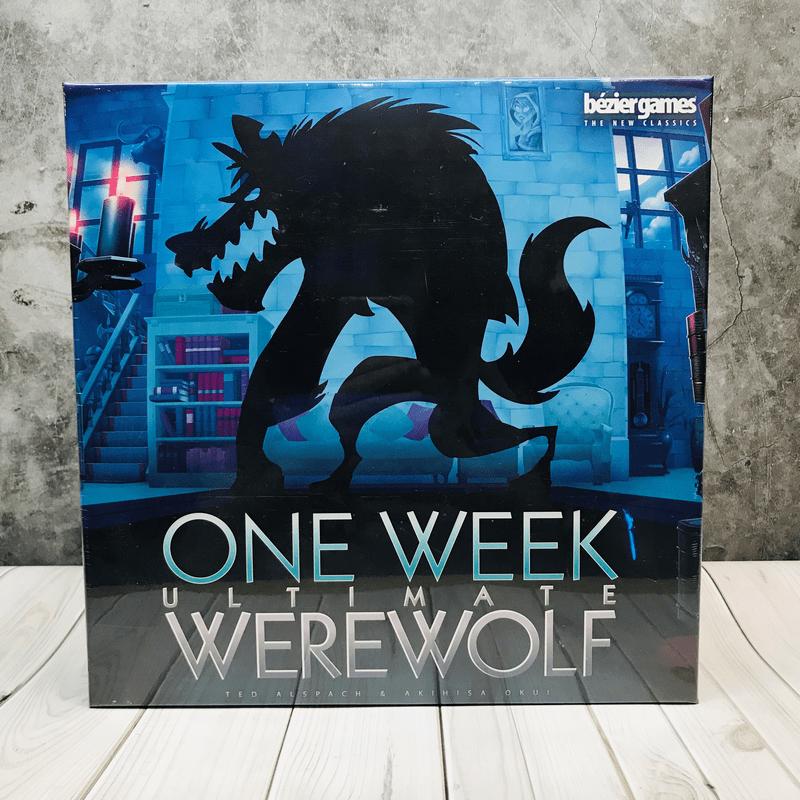 One Week Ultimate Werewolf บอร์ดเกม