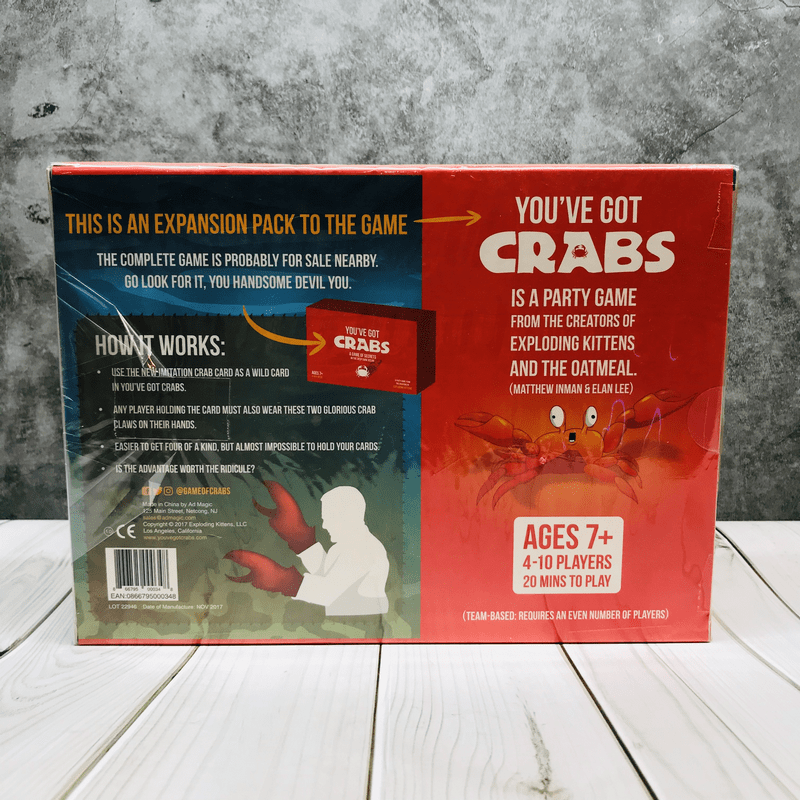You've Got Crabs: Imitation Crab Expansion Kit  บอร์ดเกม
