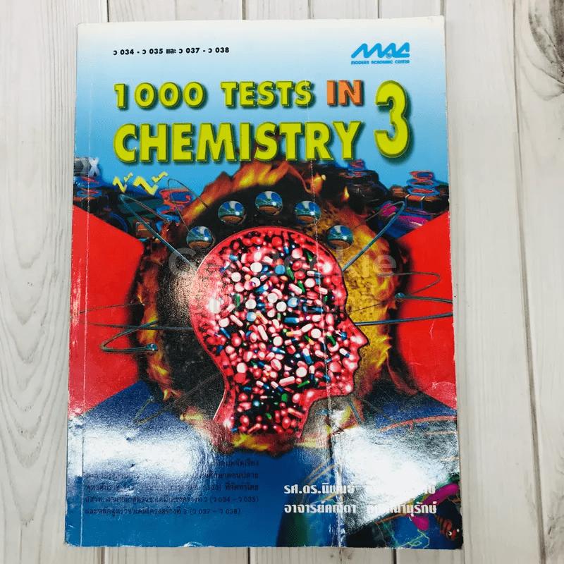 1000 Tests in Chemistry 3