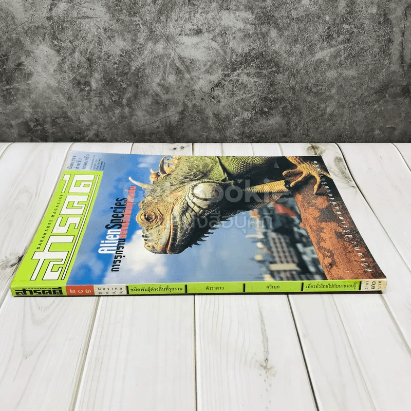 Feature Magazine สารคดี ฉบับที่ 203 AlienSpecies การรุกรานของชนิดพันธุ์ต่างถิ่น
