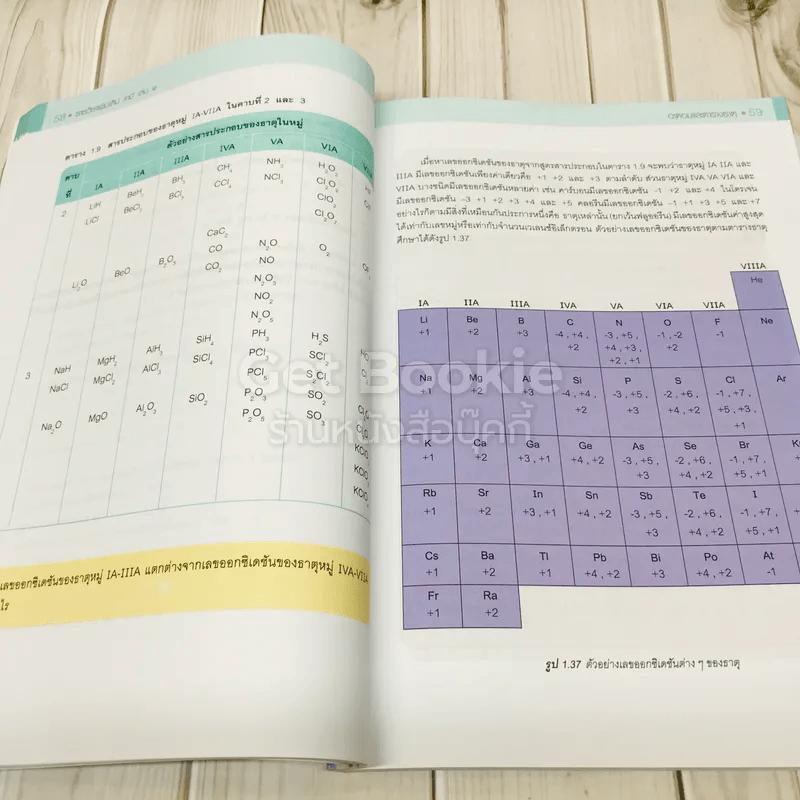เคมี เล่ม 1 ชั้นมัธยมศึกษาปีที่ 4-6