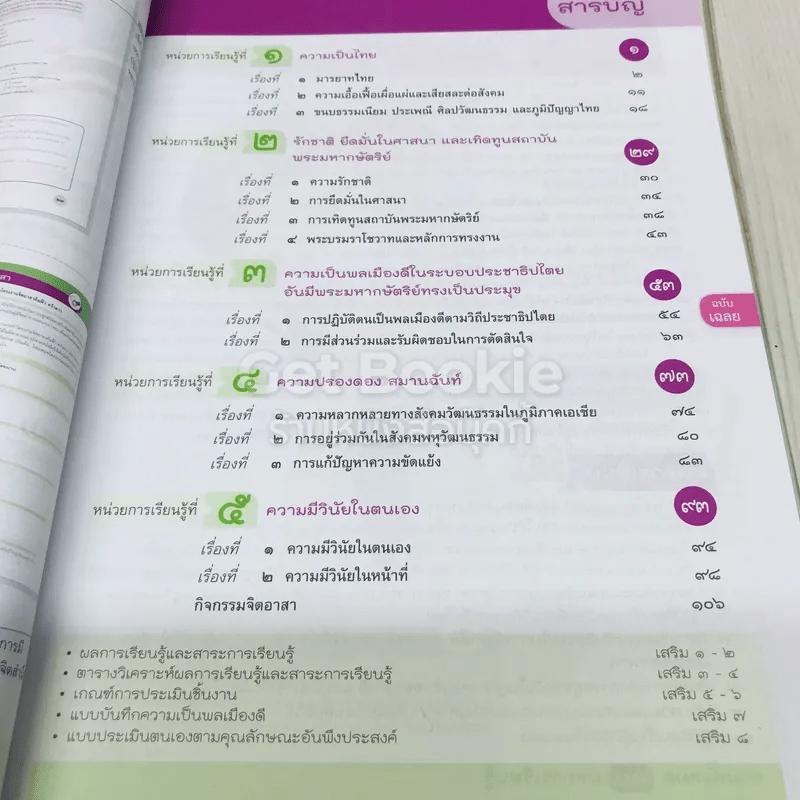 หน้าที่พลเมือง 3-4 ชั้นมัธยมศึกษาปีที่ 2