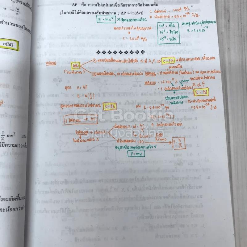 เทคนิคตะลุยโจทย์ฟิสิกส์ O-Net & A-Net,ม.6 เล่ม 6
